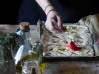 Fougasse francesi con Senape all'Antica e timo